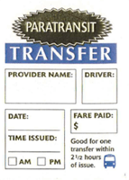 Transfer Ticket