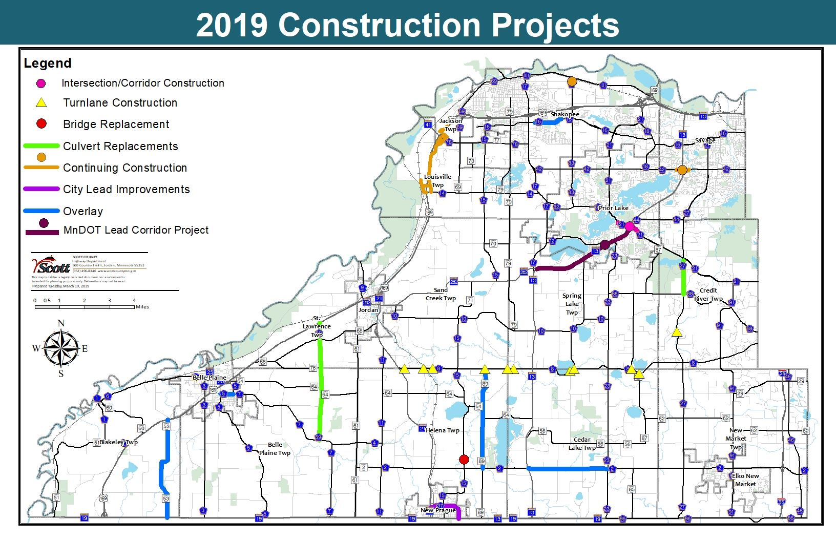 2019 Construction Projects