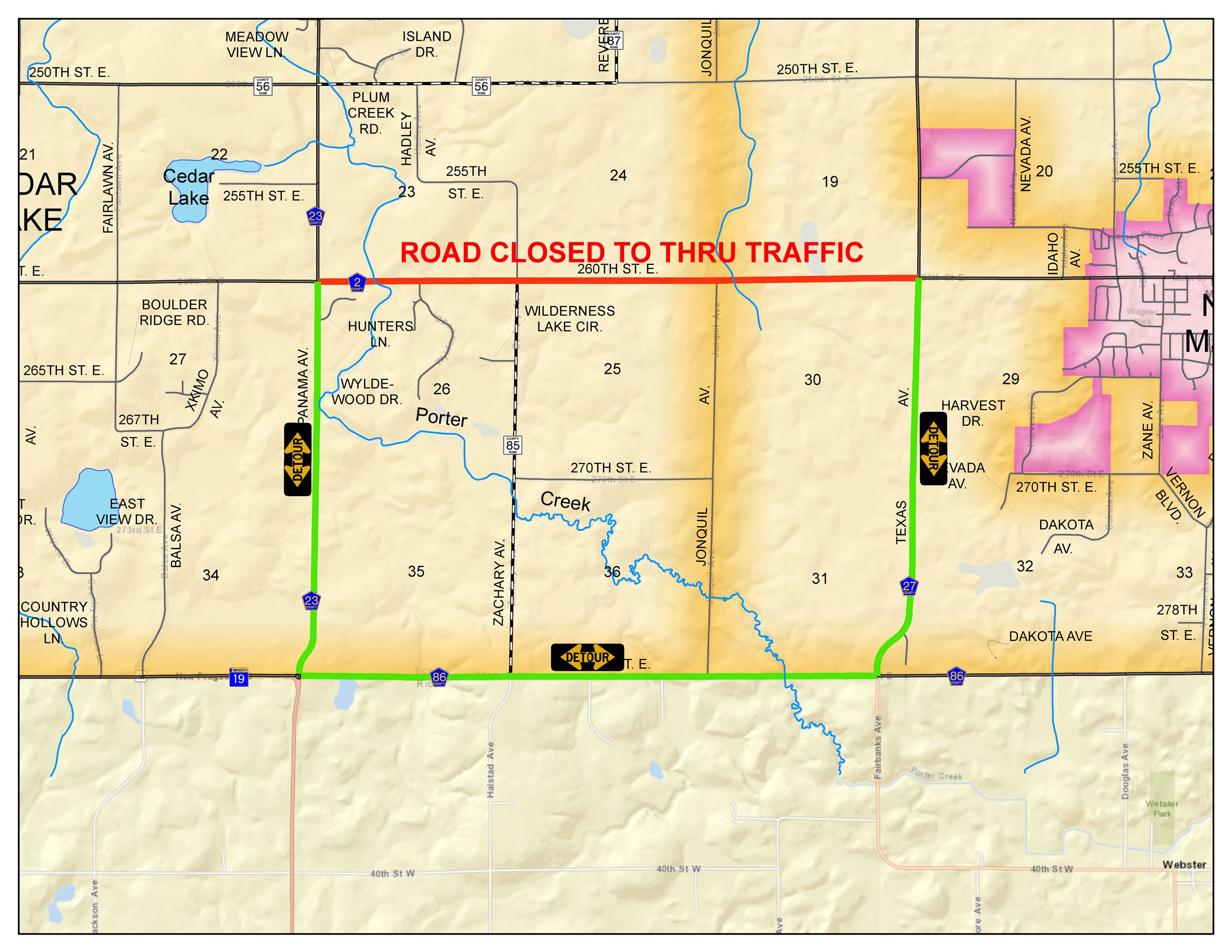 CR 2 Culvert Closure
